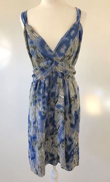 Picture of JACQUI.E Blue Wrap Dress Available in Sizes 8 & 16 RRP $149.95 Free delivery - www.summahaus.com.au