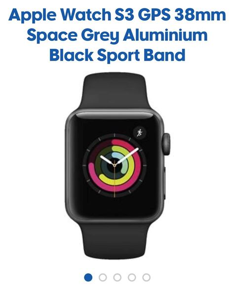 Picture of Brand new Apple Watch s3 GPS 38mm